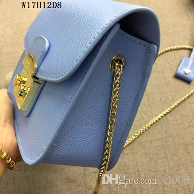 Women Mini shoulder bags real leather top quality hardware hasp Crossbody square hard shell outside casual bags
