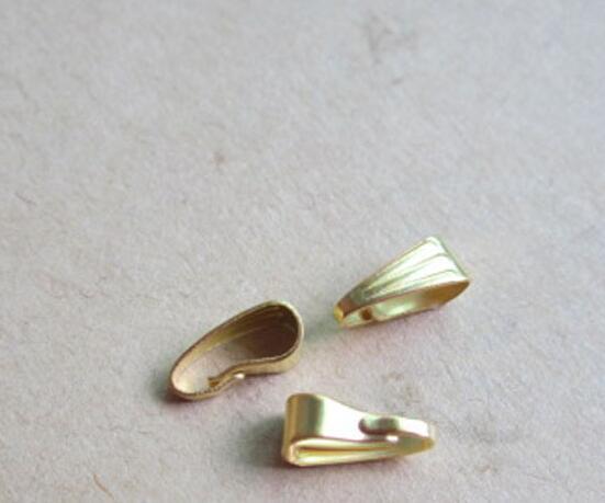 Clips broche colgante Conectores Clip fianza colgante pizca de resultados de la joyería de bricolaje Componentes accesorios del regalo de Navidad collar de la pulsera