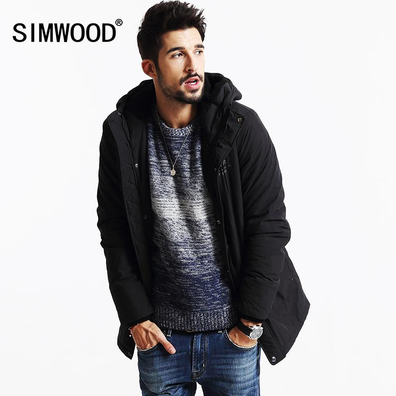 Simwood 2016 Brand New Winter Coats Men Long Parkas Thick Vintage ...