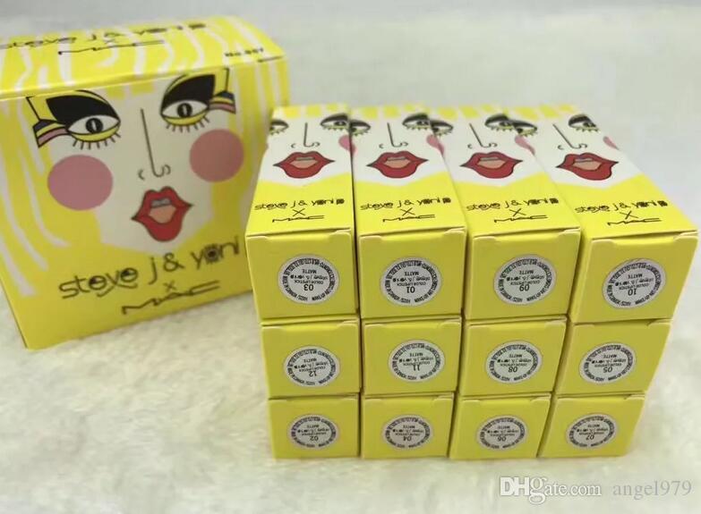 Best-Selling good sale NEW Brand tMakeup MATTE LIPSTICK Twelve different colors