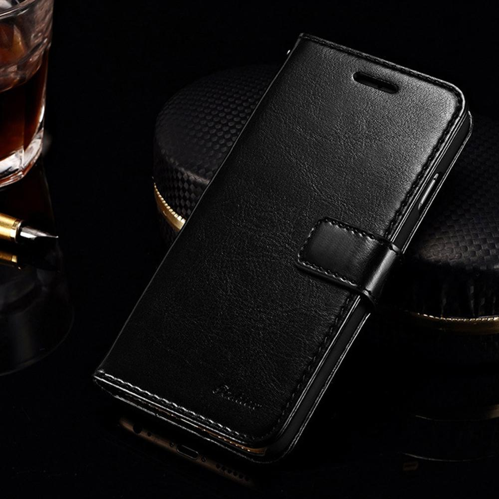 Multifunction Leather Wallet Phone Cases For iPhone 6 7 Plus Mobile Phone Card Slot Shockproof Protective Phone Pouch