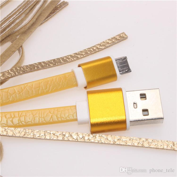 Mikro V8 USB Püsküller Şarj Veri Kablosu Taşınabilir Anahtarlık Çanta Dekorasyon Zincir Sync Hızlı Şarj Kabloları Veri Hattı Samsung S7 HTC Huawei için