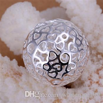 Hurtownie - detaliczna najniższa cena Boże Narodzenie prezent 925 srebrny moda biżuteria darmowa wysyłka naszyjnik N18