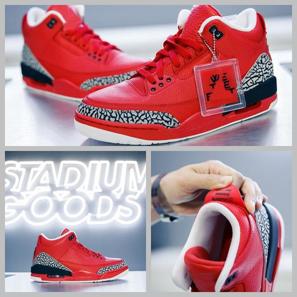 9a1c637b778adb 2017 Retro 3 Grateful PE X DJ Khaled Basketball Shoes For Men Red Tumbled  Leather Elephant Sport Trainers Sneakers US8 13 Discount Shoes Shoe Shops  From ...