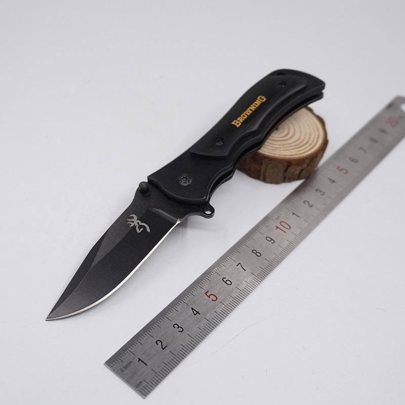 Small Browning Knife 339 Tactical Survival Knife Folding Blade Hardened 440C 57HRC Hunting Pocket Knives Swiss Outdoor Rescue Knife Tool