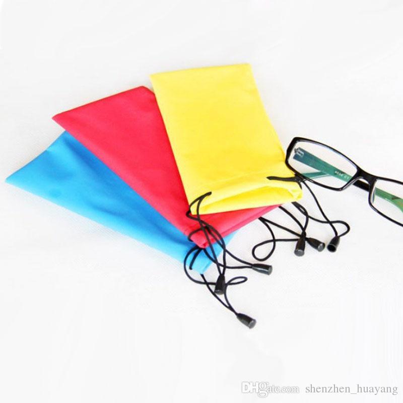 Hot sale Waterproof sunglasses pouch soft Eyeglasses Glasses Bag Case