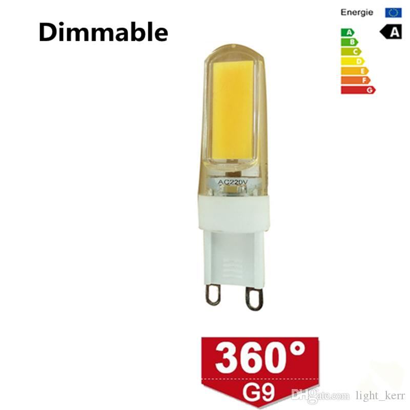 G9 Led Bulb Dimmable Led Light Bulb 3W 2609 COB Lamp Bulbs Chandelier Lamps Replace Halogen Spotlight Chandelier 30W Equivalent Led Bulbs