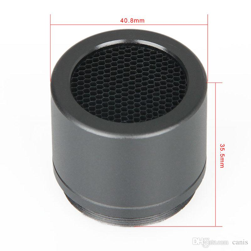 Canis Latrans Tactical Black Color Metal Metal Mesh Protector la protezione del metallo DR 1x-4x Scope CL33-0197