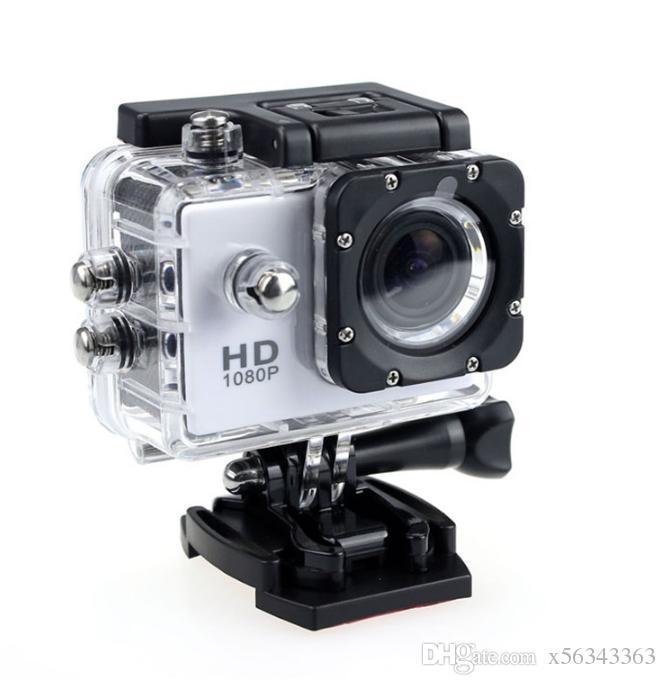 nuevo 1080P Full HD Action Digital Sport Camera 2 pulgadas de pantalla bajo impermeable 30M DV grabación Mini Sking Bicycle Photo Video Cam