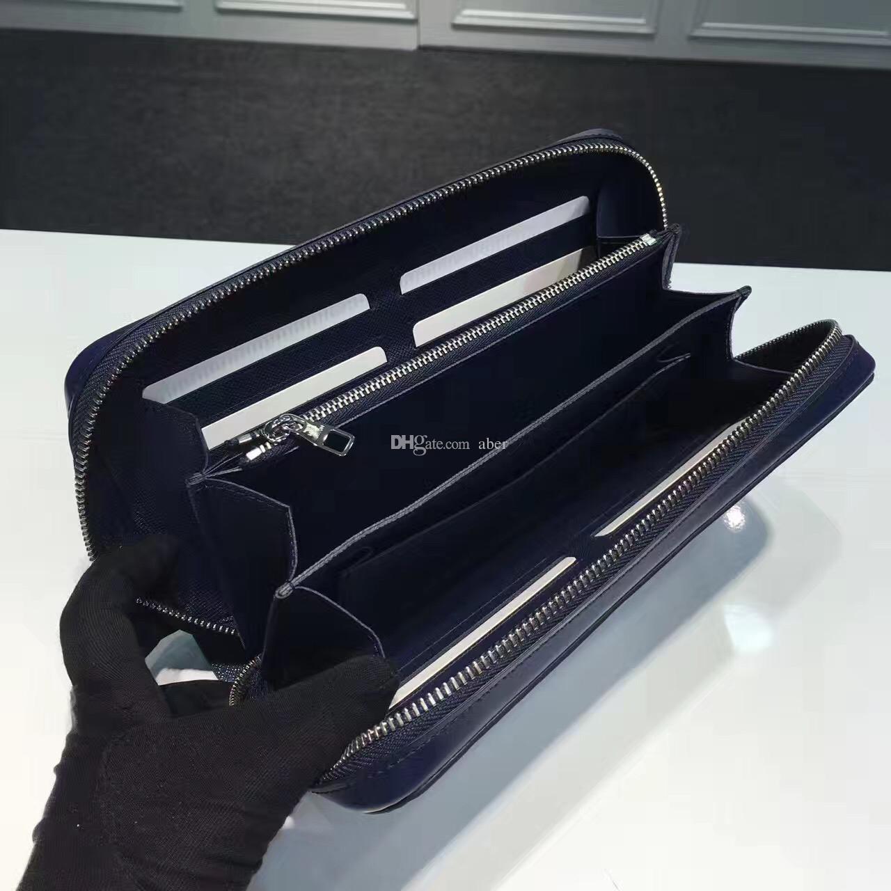 New Zippy XL Brieftasche runde reißverschluss reisetasche Schwarz Geldbörse Herren Echt Epi Leder M61506 Braun reisepass Halter designer Damier Ebene kupplung