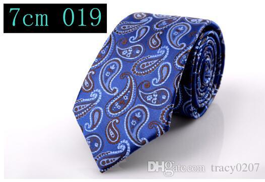2016 Hot Fashion Men's Tie Narrow Version 7cm Polyester Flat type Men Necktie Gift Christian Wedding Accessorise have