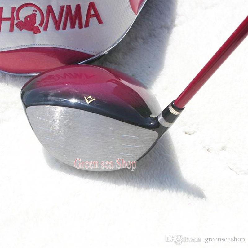 إمرأة جديد نوادي الجولف honma s-03 3 star golf driver 12 loft أندية سائق الجرافيت Golf shaft L flex شحن مجاني