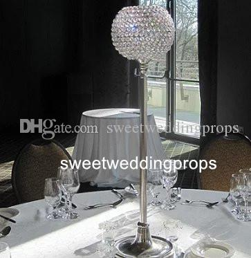 Antika düğün çiçek cam vazo masa centerpieces