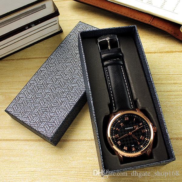 Orologi di alta qualità scatole di cartone orologi Scatola di imballaggio / contenitore di gioielli / regalo Scatole di visualizzazione / scatola di orologi da viaggio