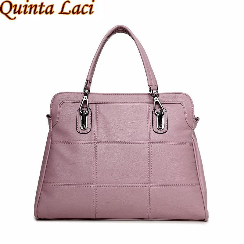 Wholesale Quinta Laci Genuine Leather Women Handbags Spring Female Shoulder  Bag Fashion Ladies Totes Ipad Pink Crossbody Women Bag Cheap Bags Cute  Purses ... 959843fd75986