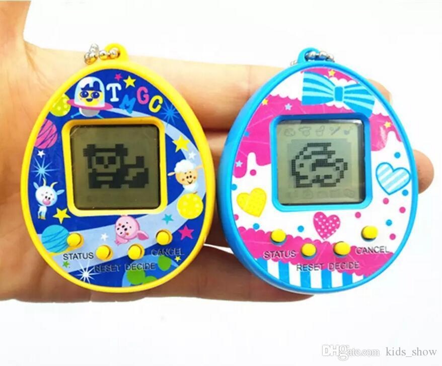 الحار ! Tamagotchi Electronic Pets Toys 90S Nostalgic 168 Pets in One Virtual Cyber Pet Toy 7 Style Tamagochi لعبة البطاريق
