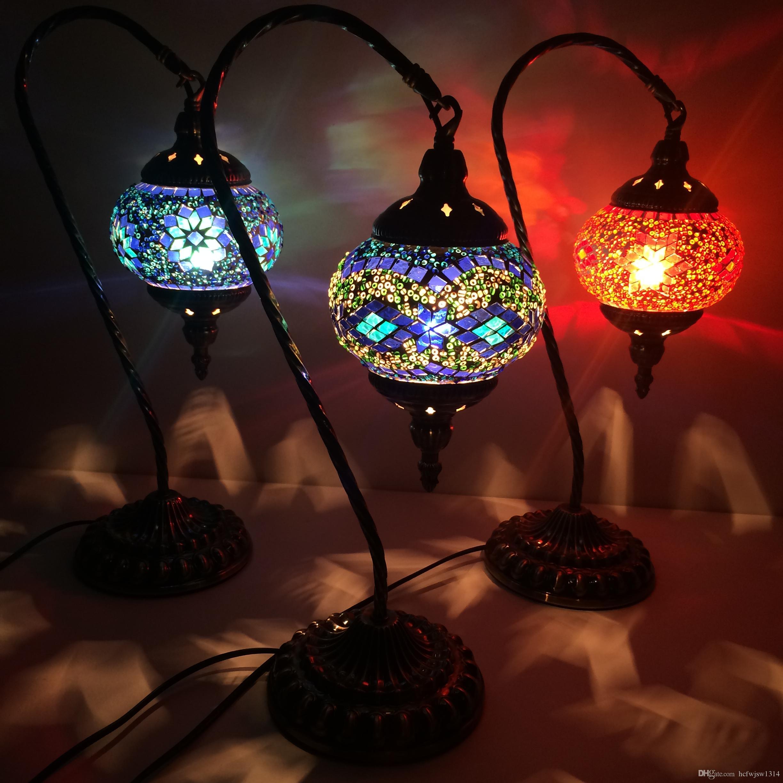 Acheter Lustres De Chambre Style Asie Du Sud Est Lampe Romantique
