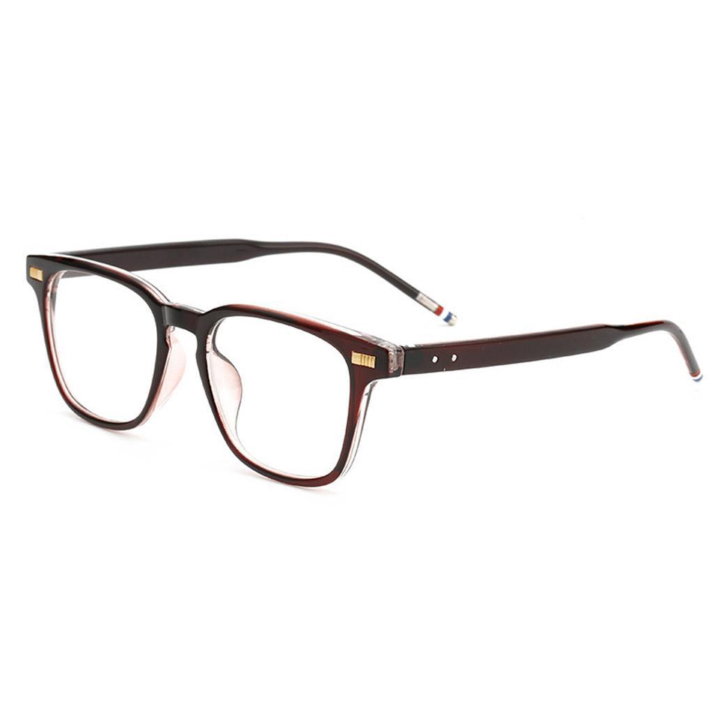 Discount Wholesale Pc Plain Glass Bright Black Frames Glasses ...