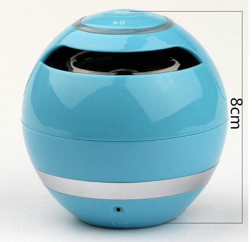 neue Mini bunte Kugel tragbare Bluetooth Wireless YST-175 Lautsprecher Super Bass Stereo-Freisprecheinrichtung Subwoofer Mic TF Karte LED-Licht