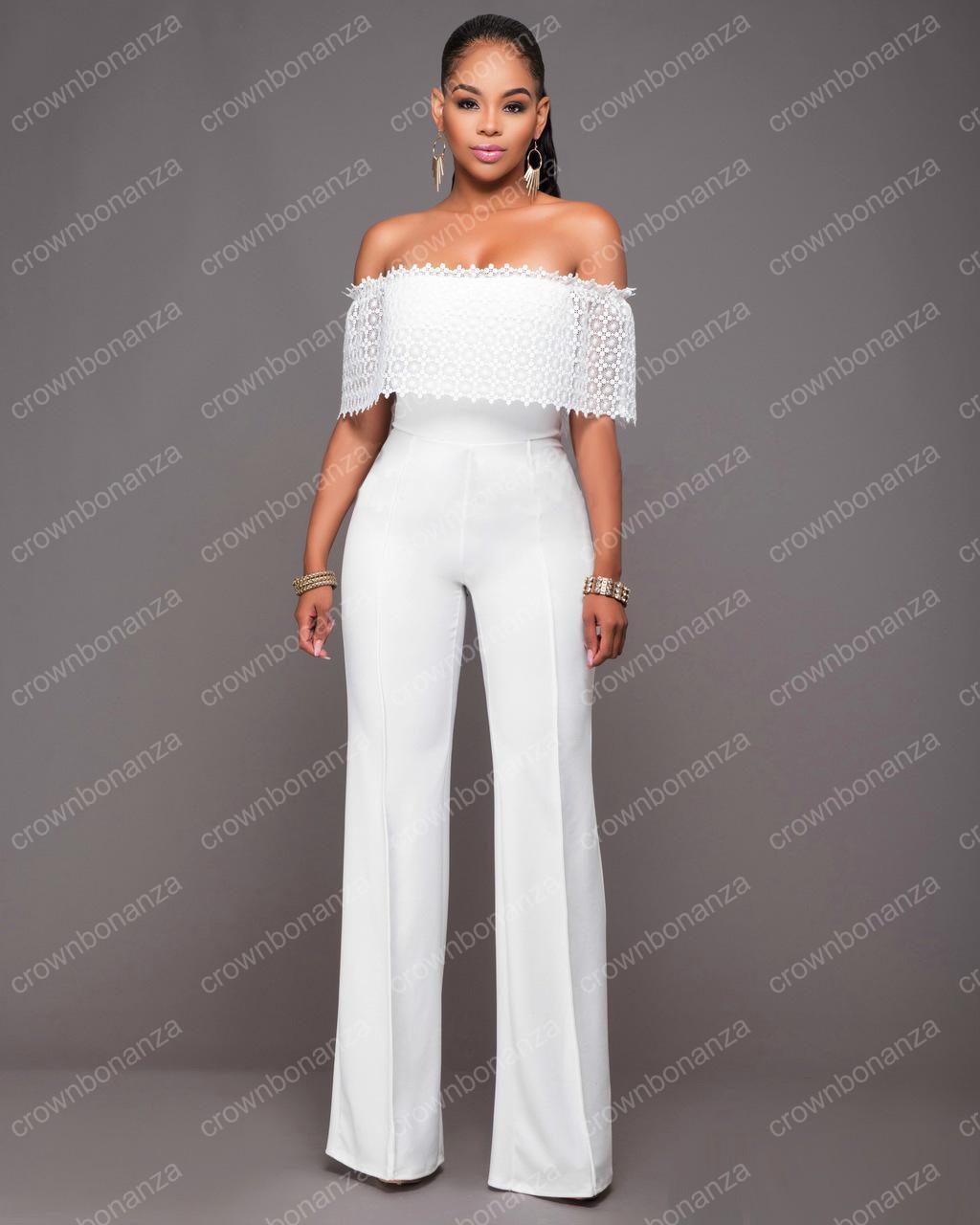 White Jumpsuit Sale Breeze Clothing