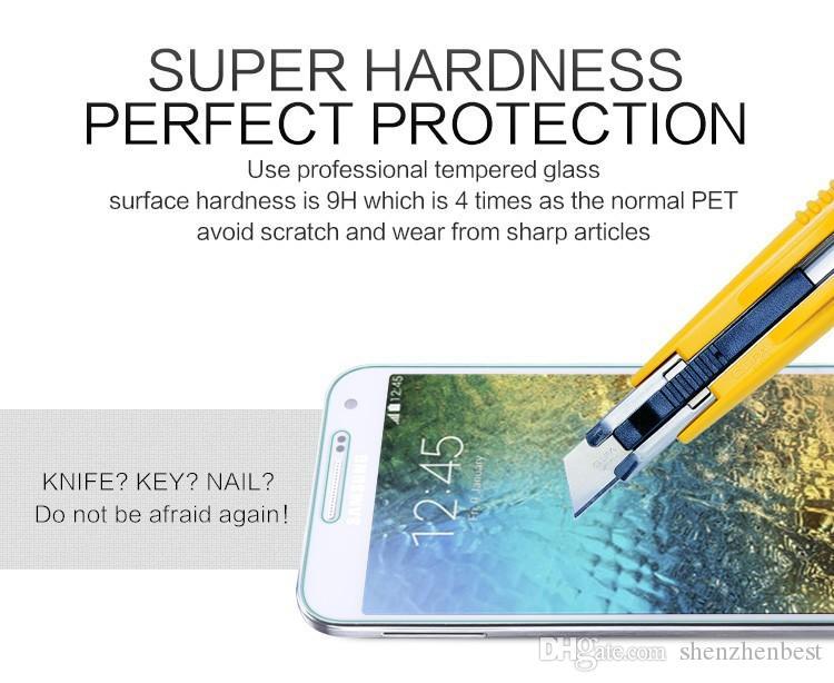 Incredibile Vetro Temperato Premium 9H 0.3mm Samsung W789 / W899 / W999 / E5 / E7 / Z1 / Z3 / N7505 / T399 / Pellicola Vetro 50 pz / lotto