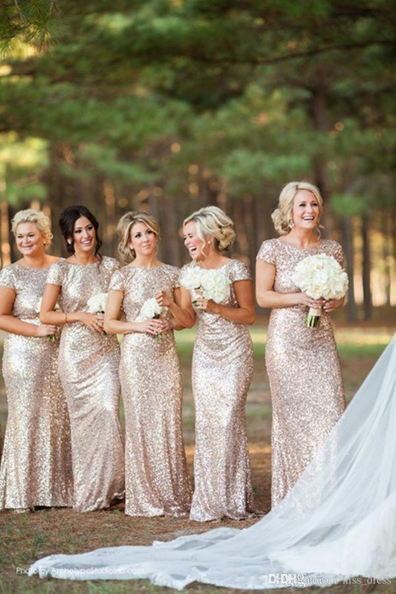 Junior bridesmaid dress patterns choice image braidsmaid dress hot sales new biling bling gold bridesmaid dresses long jewel sleeve mermaid backless sequins formal gowns ombrellifo Gallery
