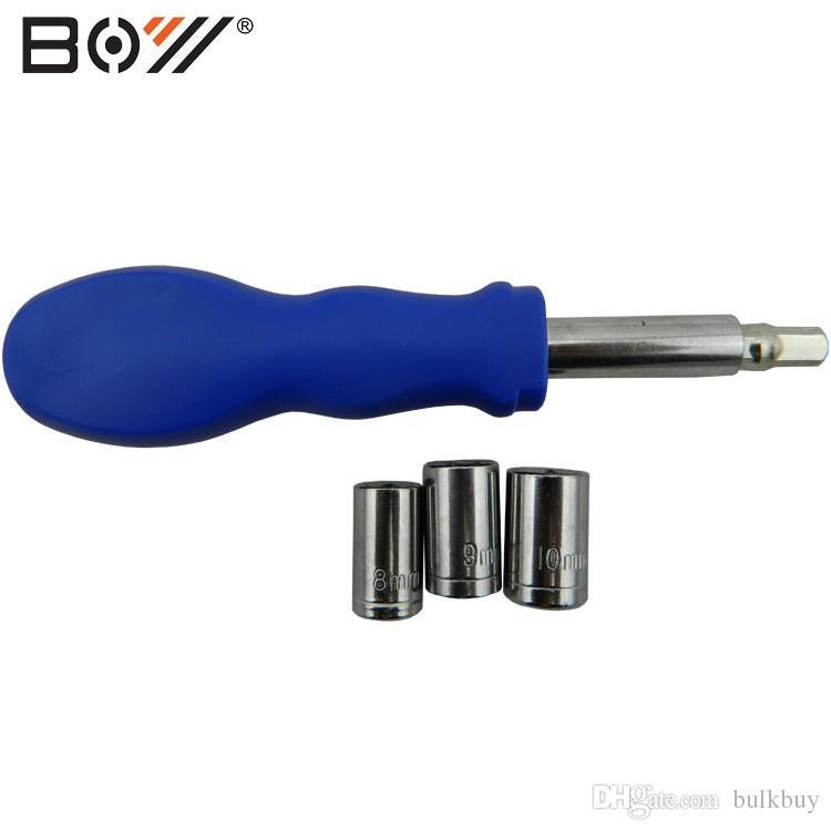 BOY 8010U Herramientas de botella de agua / Bicicleta BTT Herramientas de reparación de bicicletas 19 en 1 Juego de herramientas multifuncionales Kit Ciclismo en bicicleta Juego de herramientas de reparación portátil