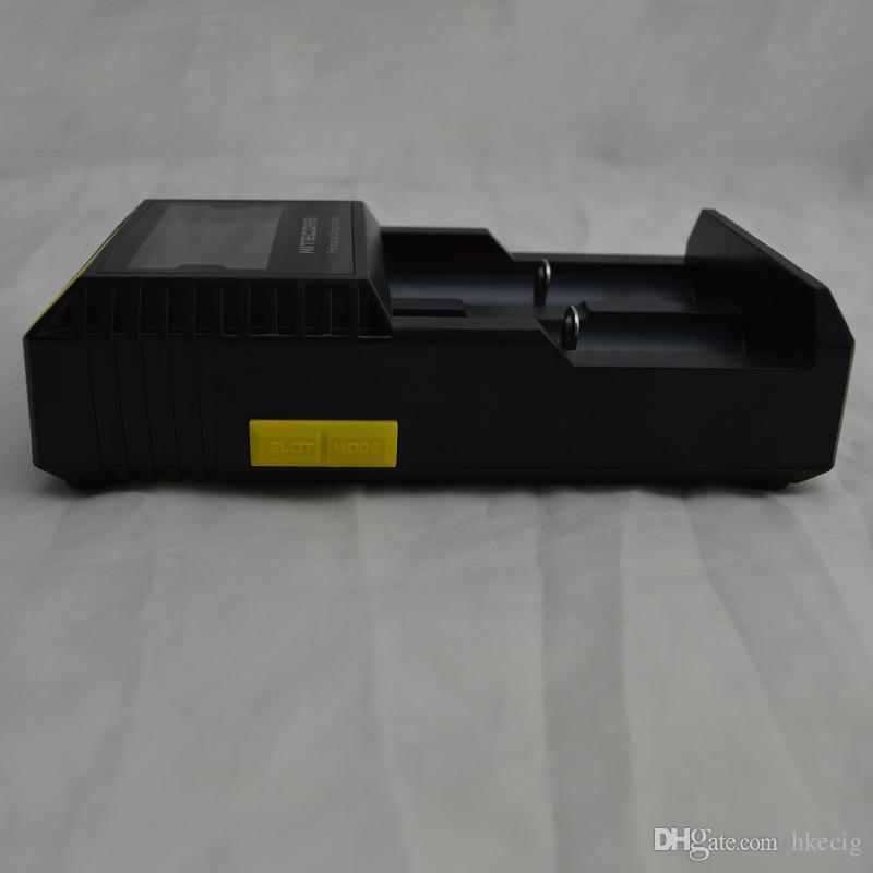 nitecore D2 LCD Digi 충전기 유니버셜 지능형 충전기 18350 18650 18500 Li-ion 무료 배송