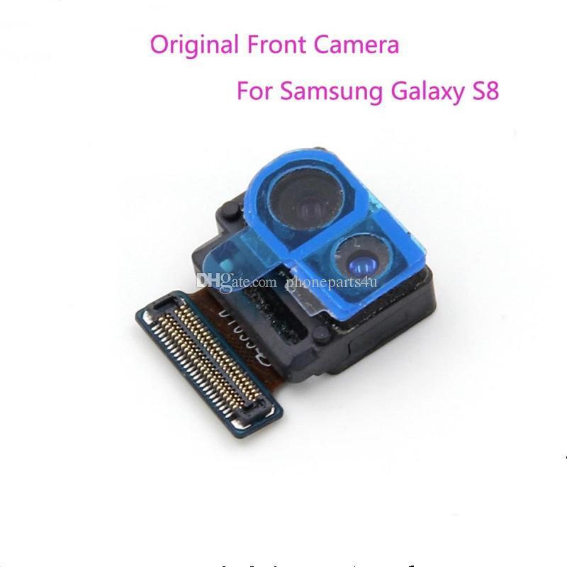 Reparo do telefone da frente da câmera para samsung s8 s8 + plus 2017 nova chegada substituição parte frete grátis
