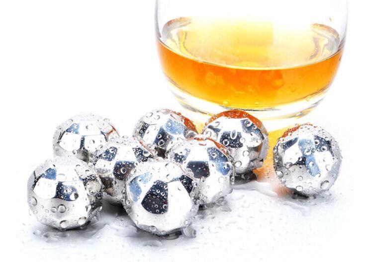Nouveaux modèles de losange en acier inoxydable Ices Stones Magic Ice Cubes Pour Whisky Stone Ice Cubes I104