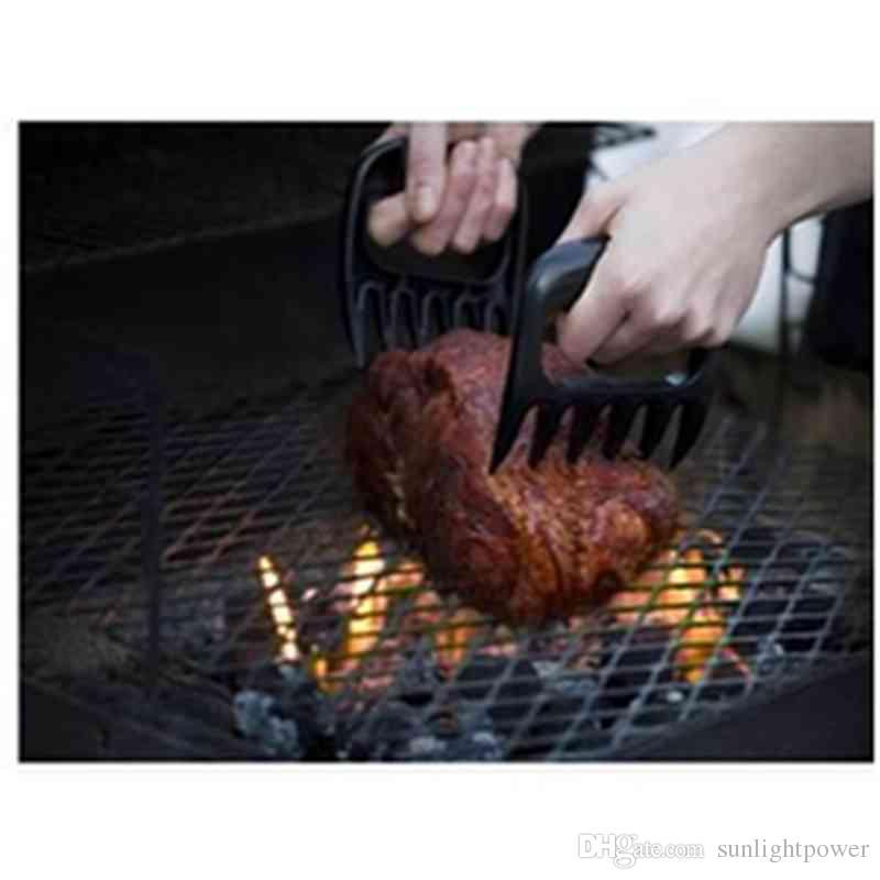 Nuovo 1 pz 11x12.5 cm orso carne artigli Handler barbecue forche pinze tirare brandelli di maiale barbecue barbecue griglia di cottura tutto la cucina