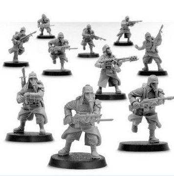 Forgeworld *BITS* Death Korps of Krieg Advancing Figure G