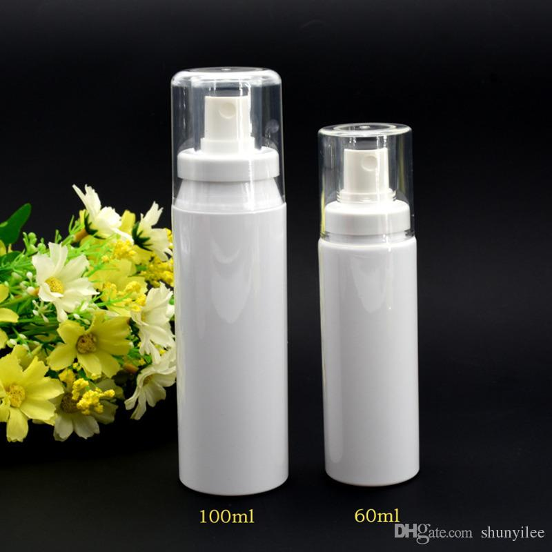 60ML 100ML wholesale empty PET atomizer spray bottle , round 60ML clear bottle sprayers ,buy cheap 60ml spray bottle F2017365