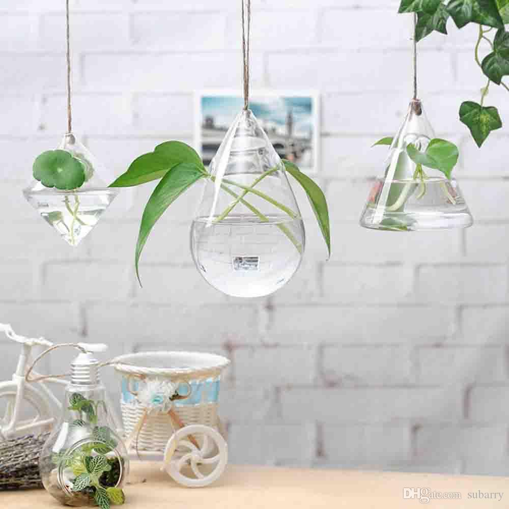 3 pack hanging plant glass vase terrarium planter decoration 3 pack hanging plant glass vase terrarium planter decoration hanging bulb vase decorative design flower vases wedding decorative vase large floor vases for reviewsmspy