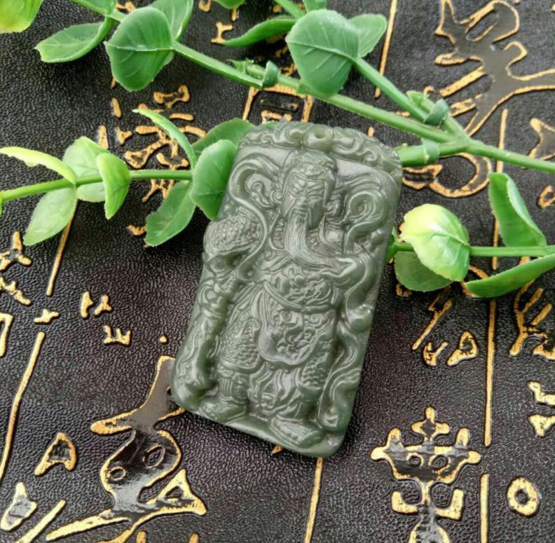 Le nouveau Tian Qingyu et la nouvelle richesse naturelle la plus vendue du pendentif Guan Guan masculin et féminin
