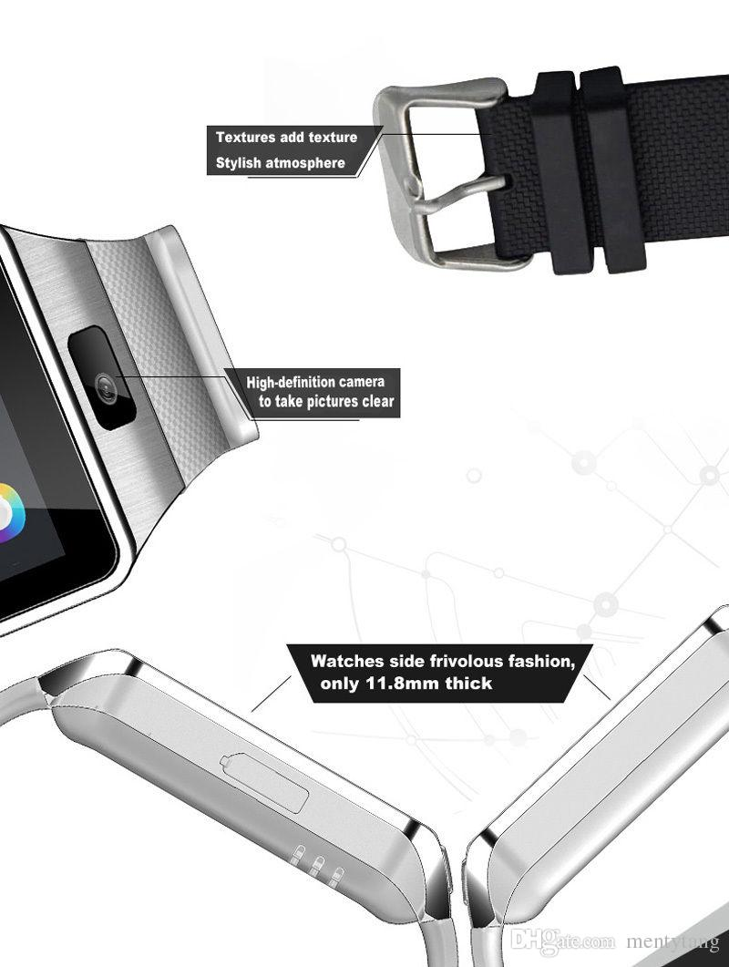 DZ09 Bluetooth Smart Watch For Android&IOS Phone Gift Support SIM Card TF Card Smartwatch DHL