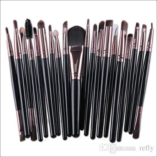Professional Makeup Щетки набор косметические лица для теней для теней для теней инструменты инструменты для макияжа комплект для бритья губа быстрая DHL доставка