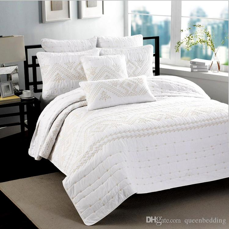 American Morden Pastoral Cotton Quilting Quilts Water Washed