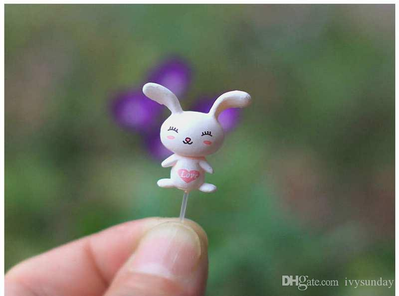 Moss Micro Landscape Plastic Nail Doll Ornaments Fixed Rod Pin Earrings Earpins Miniature Bonsai Doll House DIY Accessories Desktop Decor