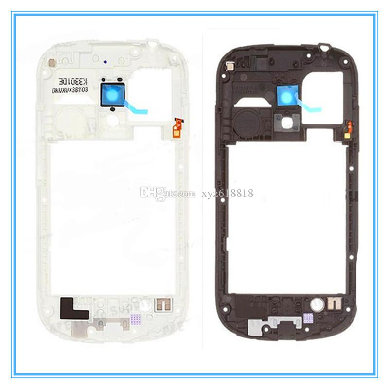 White Black Original New Middle Frame Bezel Housing For Samsung Galaxy S3 mini i8190 High Quality New Whole Sale Retail