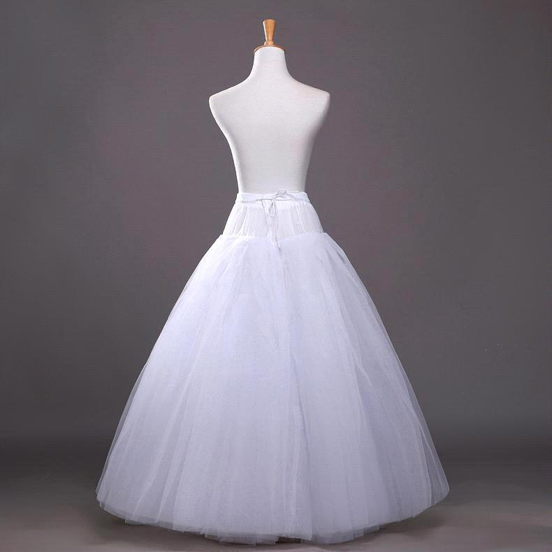 Hızlı Kargo Balo Petticoats Kadın Kabarık Ucuz Beyaz Jüpon Düğün Petticoat kabarık etek Gelin Düğün Aksesuarları