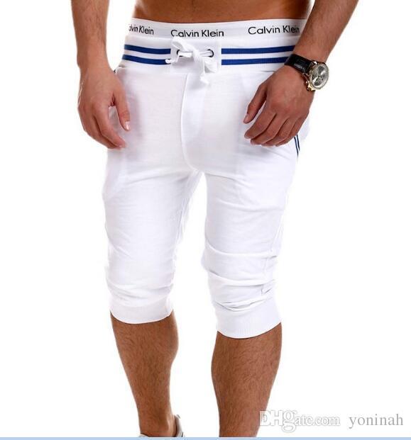 Célèbre 2018 Wholesale Solid Shorts Men Pantalones Cortos Pantacourt Homme  UX61