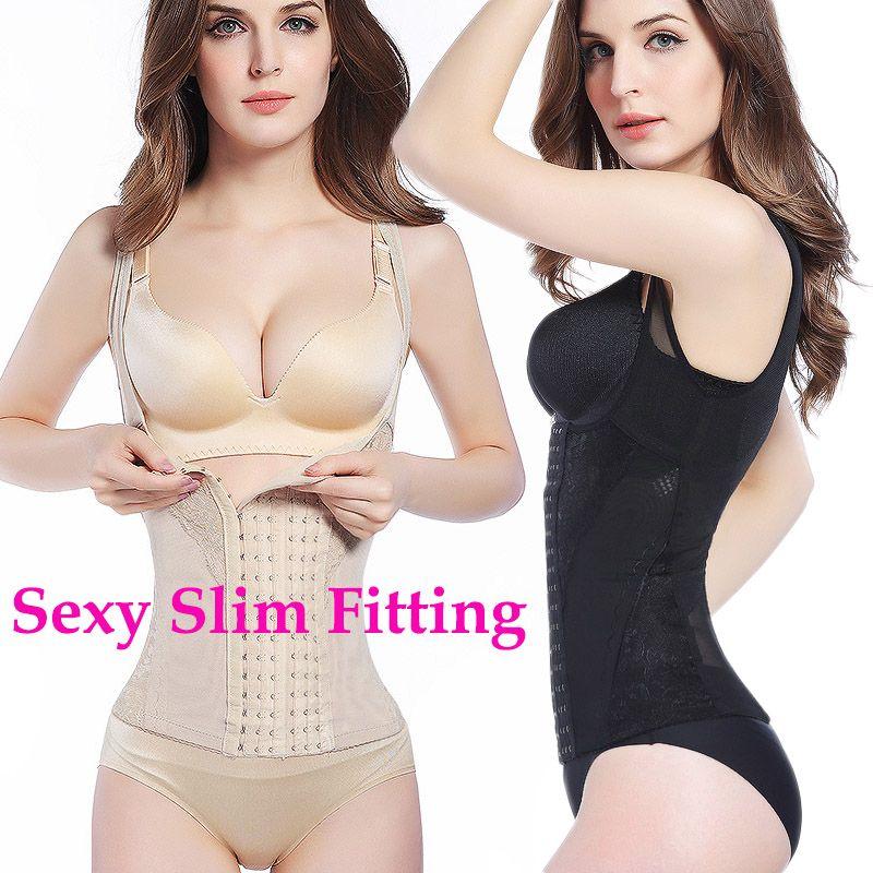 cd184507cf761 2019 Waist Trainer Corset Slimming Belt Body Shaper Modeling Strap Belly  Slimming Sheath Top Steel Boned Back Waist Plus Size Strap Abdomen S 6XL  From ...