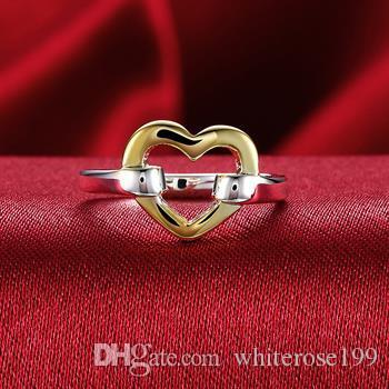 Großverkauf - Niedrigster Preis des Kleinhandels Weihnachtsgeschenk, freies Verschiffen, neuer 925 silberner Art und Weise Ring yR019