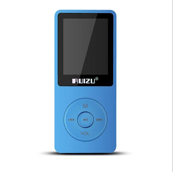 "1.8"" TFT Screen Black Blue RuiZu X02 HiFi 8G Reproductor Sport Music Mp3 Player FM Recorder"