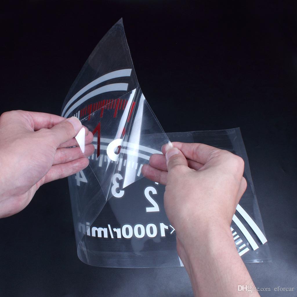 Logo autocollant de compteur de vitesse de la voiture de voiture pour la fenêtre de véhicule automatique