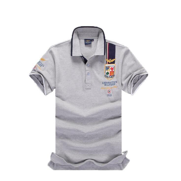 Taglie forti S-4XL Polo da uomo Polo da uomo in cotone manica corta Camicia maglie da uomo Camicie da uomo polo