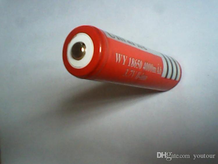 18650 Batteria al litio ricaricabile agli ioni di litio 4000mAh la torcia elettronica della batteria della torcia della macchina fotografica del LED elettronico Bici elettronica