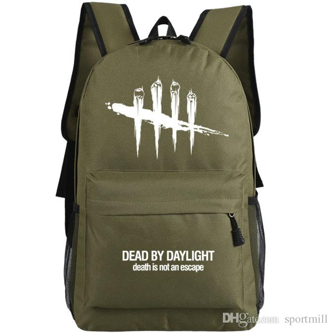 2018 Dead By Daylight Backpack Steam Game School Bag Cool Design ...