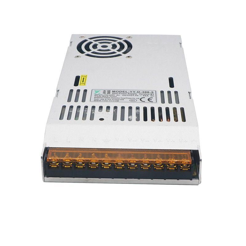 LED-Anzeige LCD-Monitor DC5V 60A 110V Schalter 220V 300W Schaltnetzteil-Adapter Fahrer-Transformator